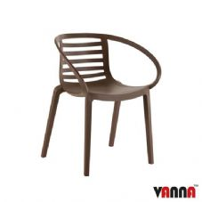 Vanna Skye Arm Chair - Brown